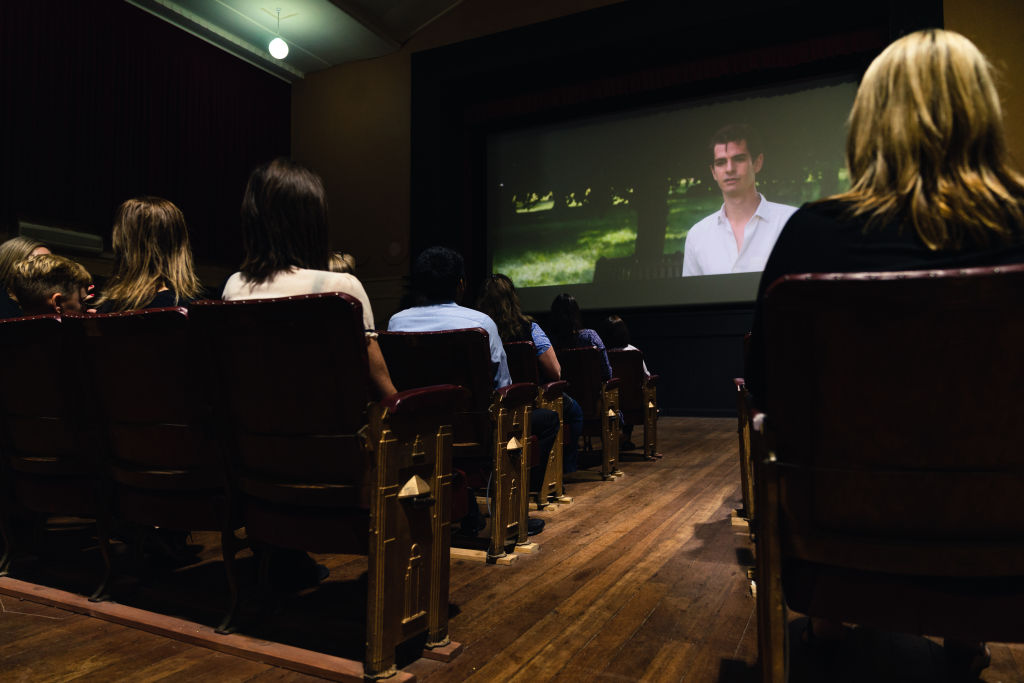 A screening at the Euroa Community Cinema.
