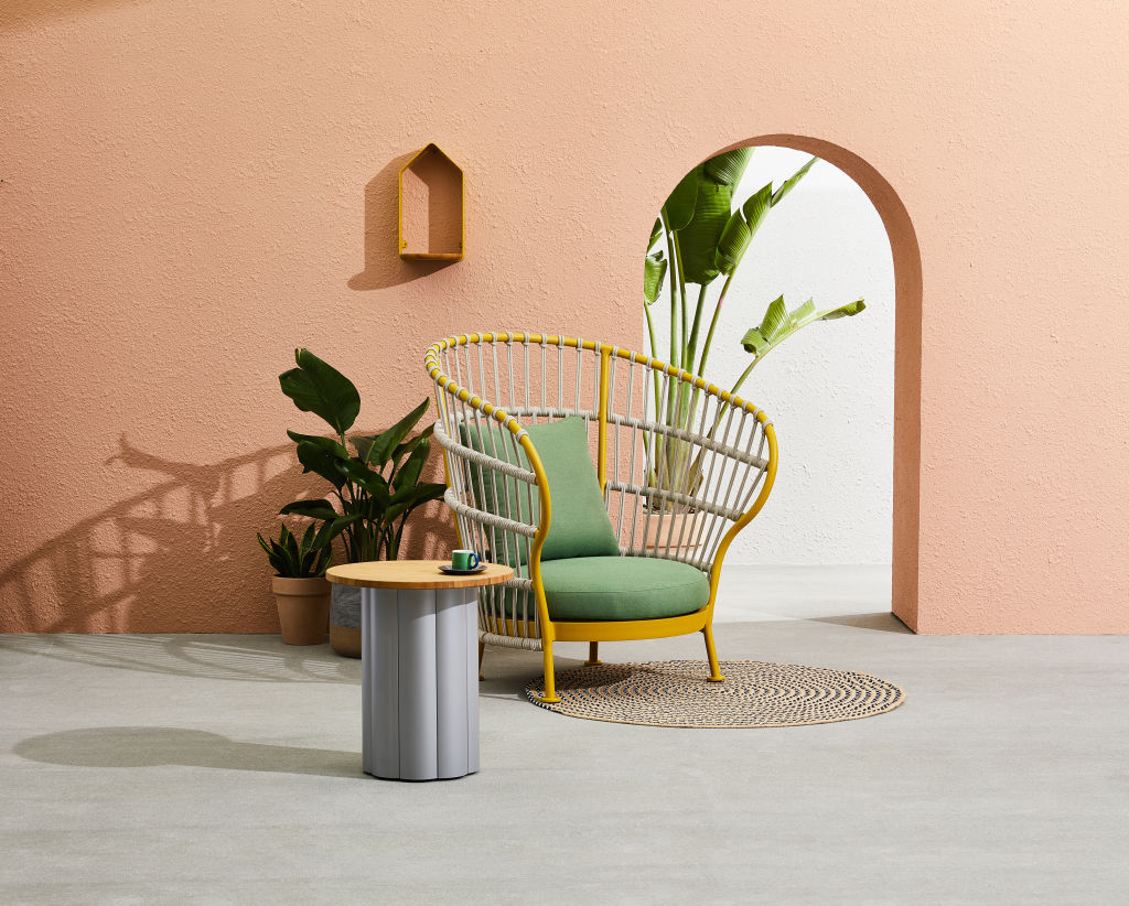 Nest Lounge Chair by Kun Design NOT FOR REUSE