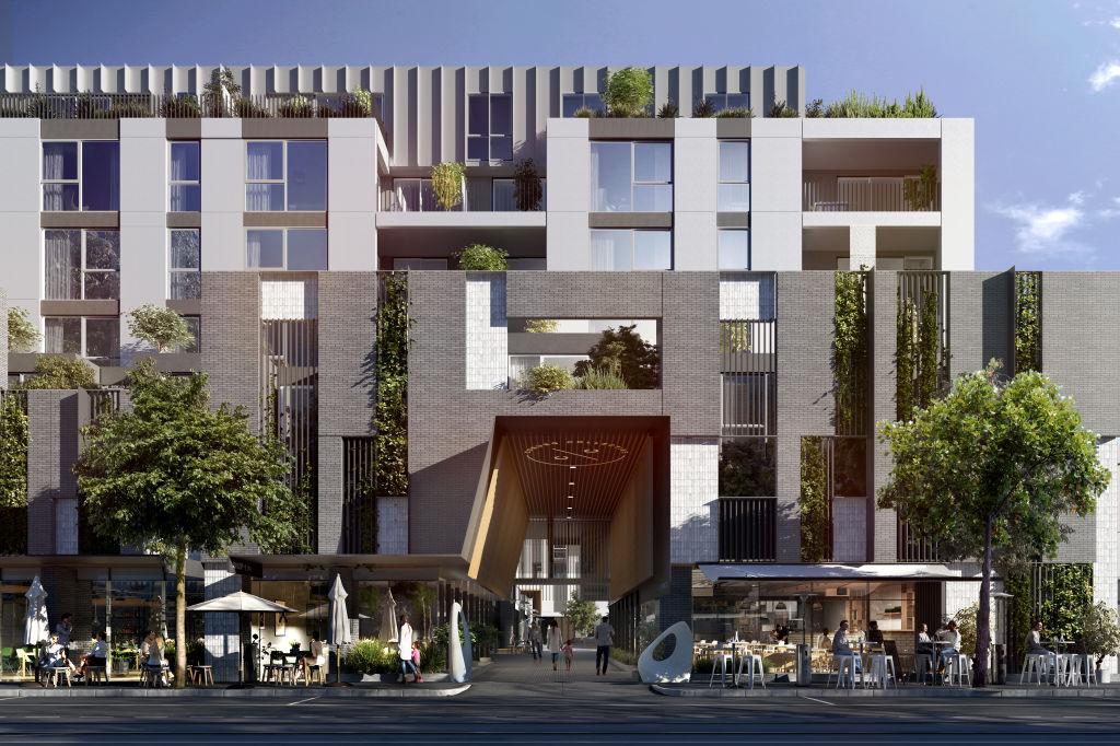 Coburg Collective   200 Sydney Road, Coburg   Architect: Hayball  Developer: Ruiyi Wisdom Dwellings Pty Ltd.