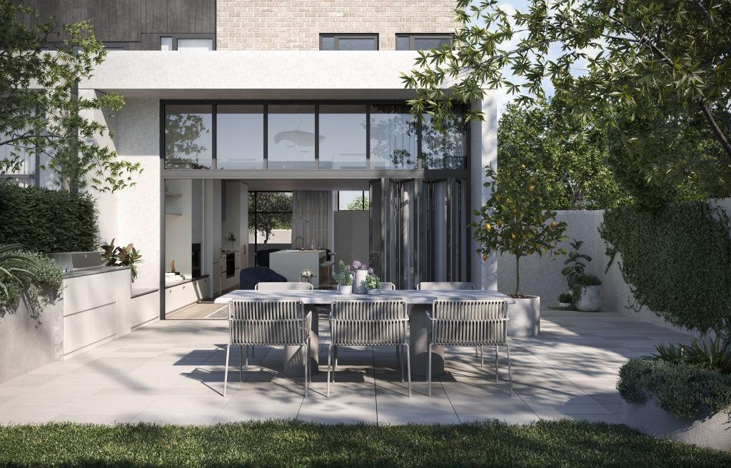Feehan Row, Moonee Valley Park   McPherson Street, Moonee Ponds  Architect: Rothelowman  Developer: Hamton  Interior design: Mim Design.