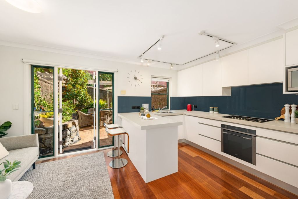 A four-bedroom townhouse at 11/38 Young Street, Cremorne sold for $2.16 million