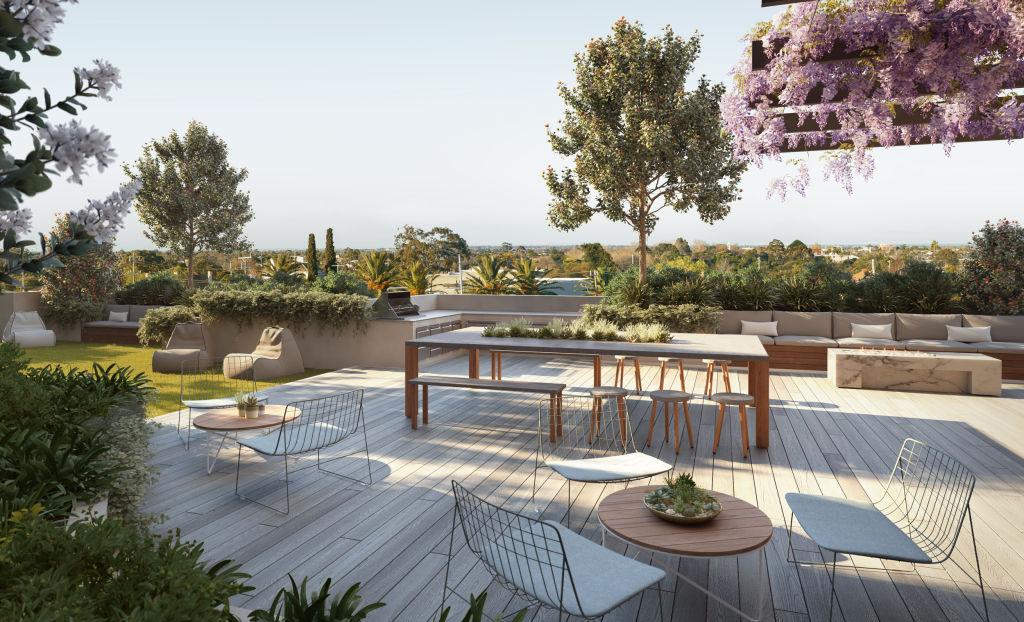 Malvern Collective terrace