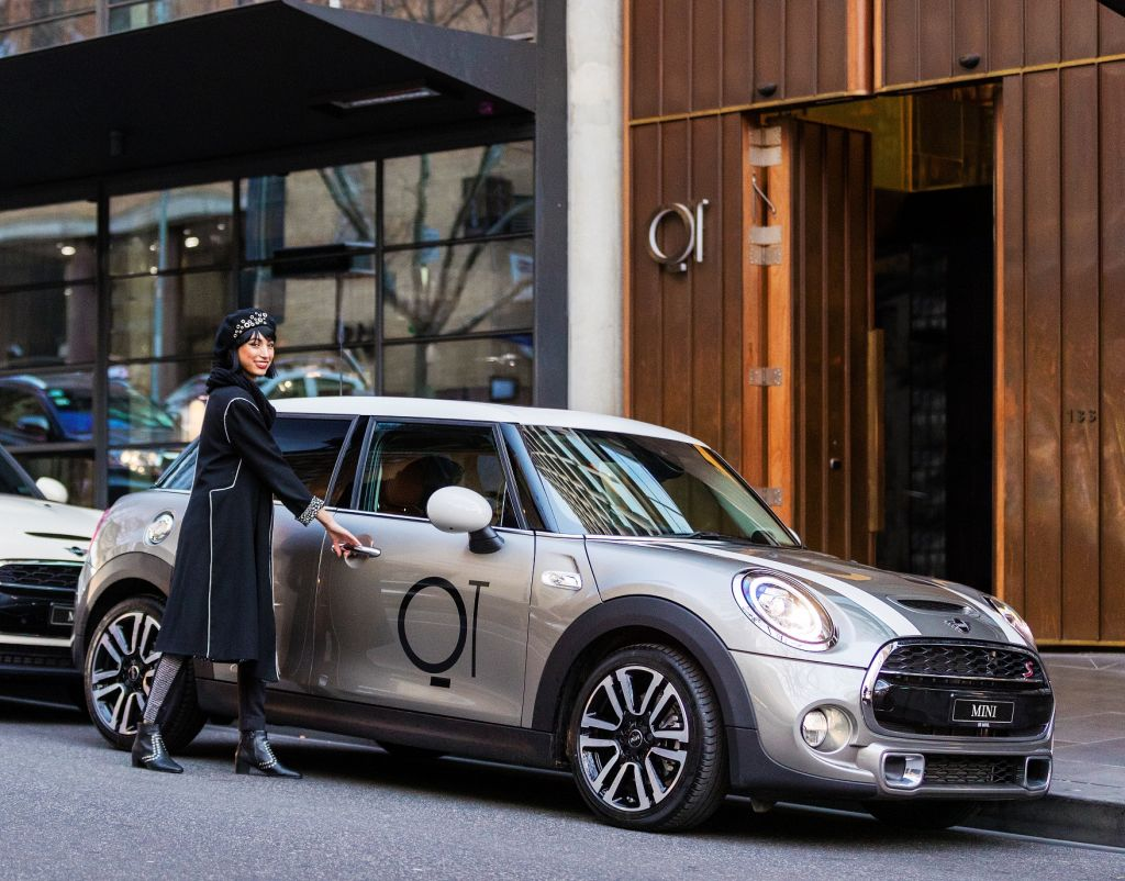 QT hotel in Melbourne is throwing guests the keys to a shiny Mini.
