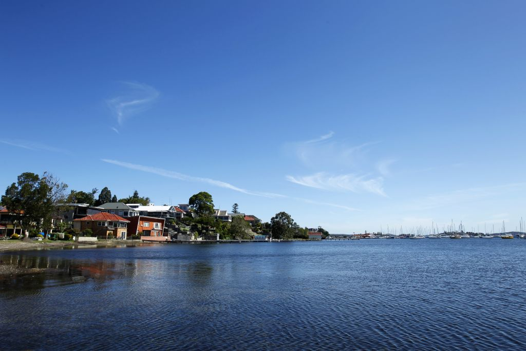 A view of Lake Macquarie