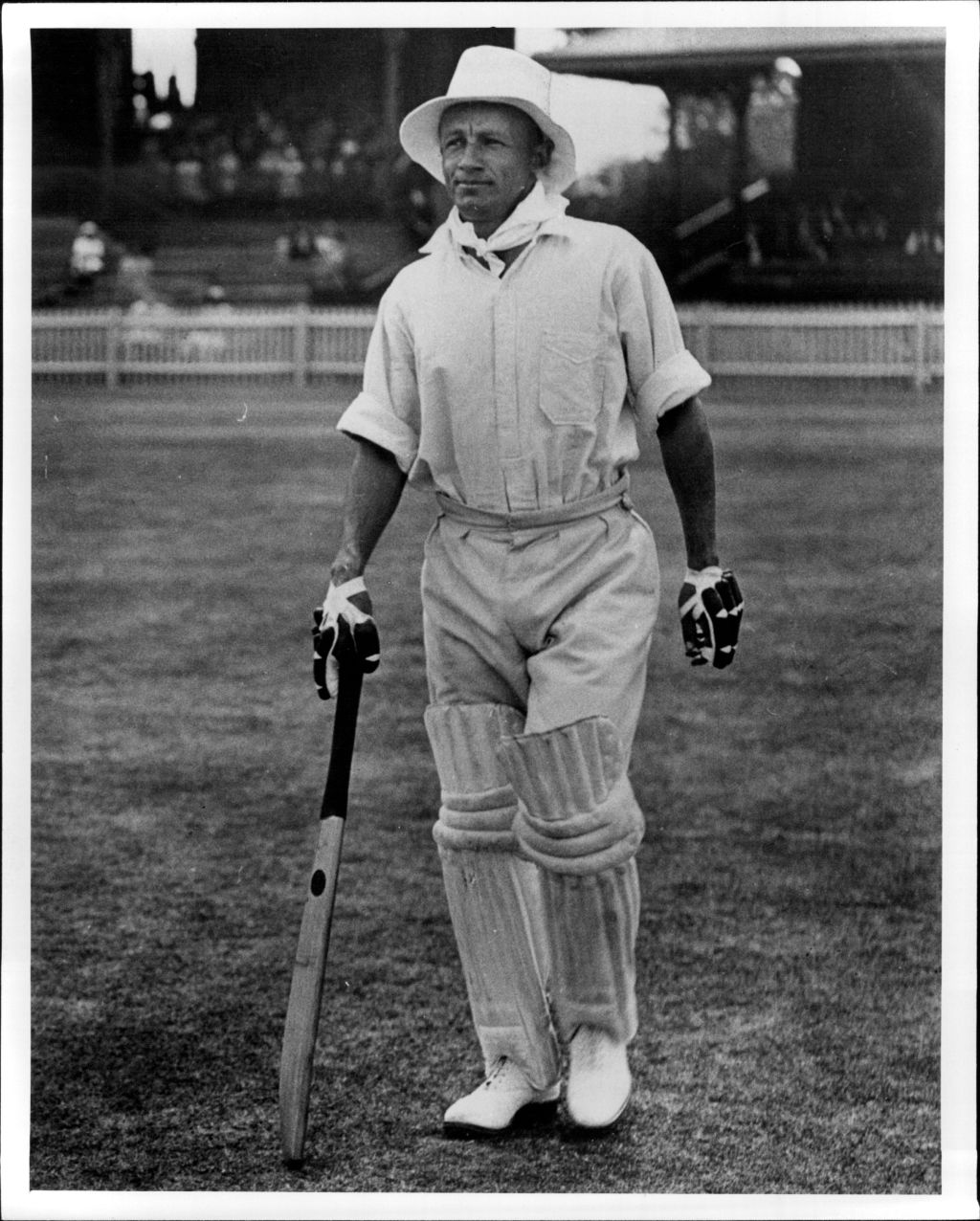 Don Bradman, 1st Day. January 27, 1932.