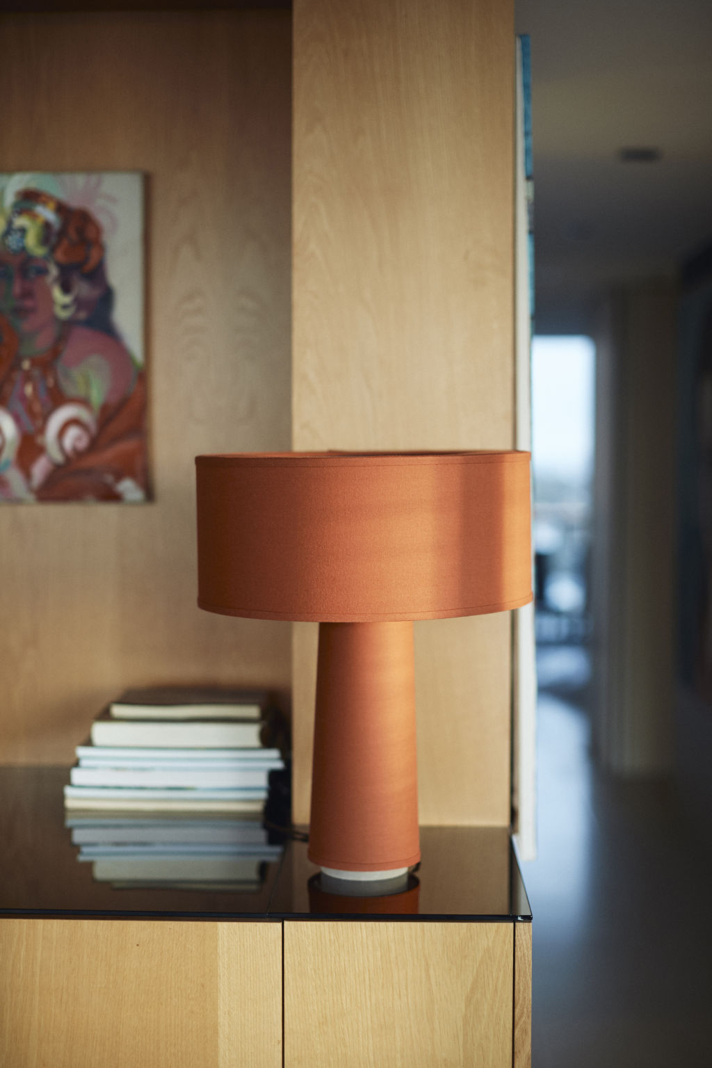 Table Lamp Drum by Chi Dang NOT FOR REUSE.