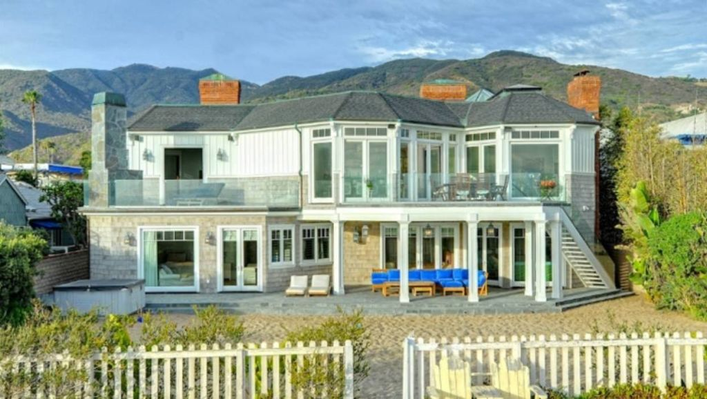 The US$3000 a night home in Malibu used in Big Little Lies.