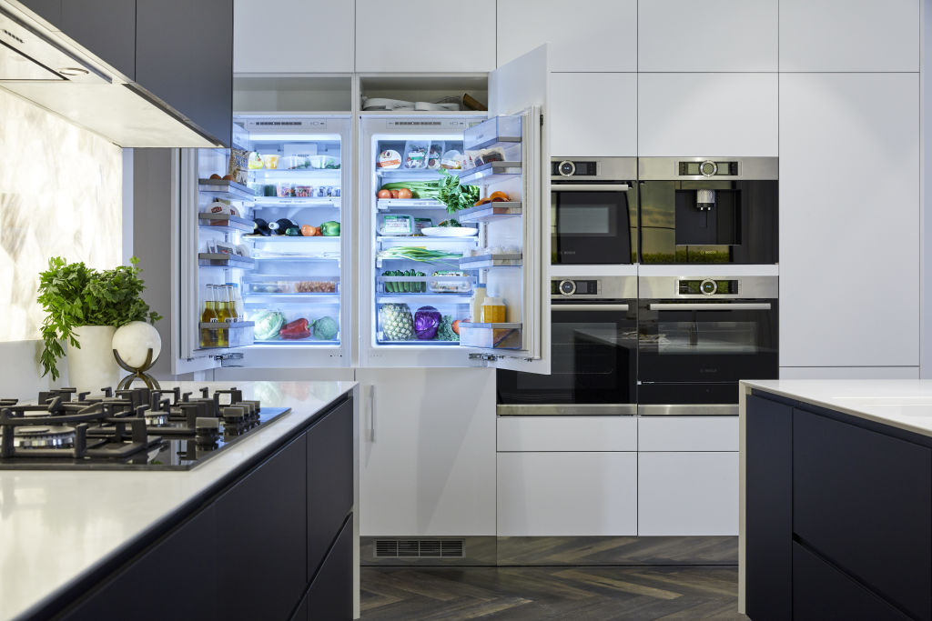 New appliances are changing the way people cook. Mitch and Mark's kitchen included three ovens and a coffee machine.