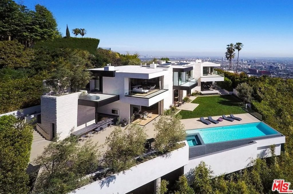 The Hollywood Hills West home has been listed for $27,995,000.