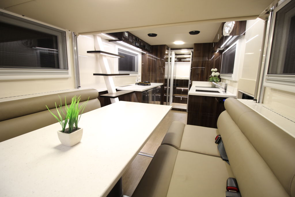 'This family didn't want to rough it': Inside the $2 million home on wheels
