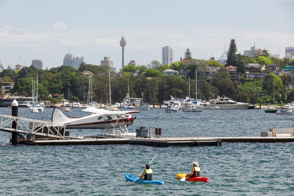 Rose Bay in Sydney.