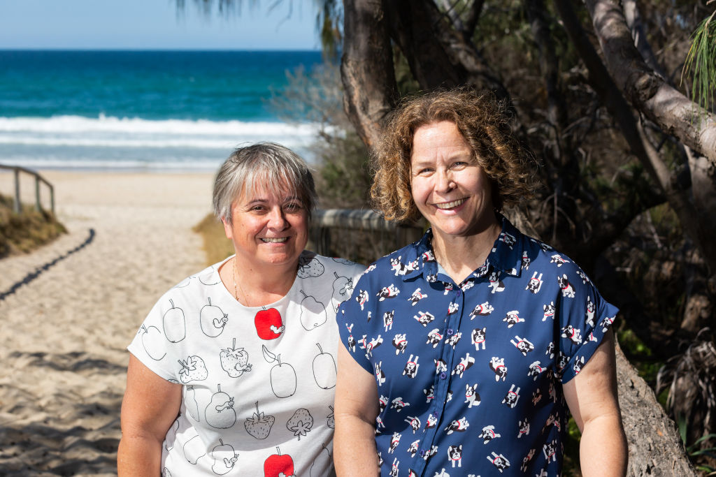 Sydney locals Helen Taylor and Rebecca Archer