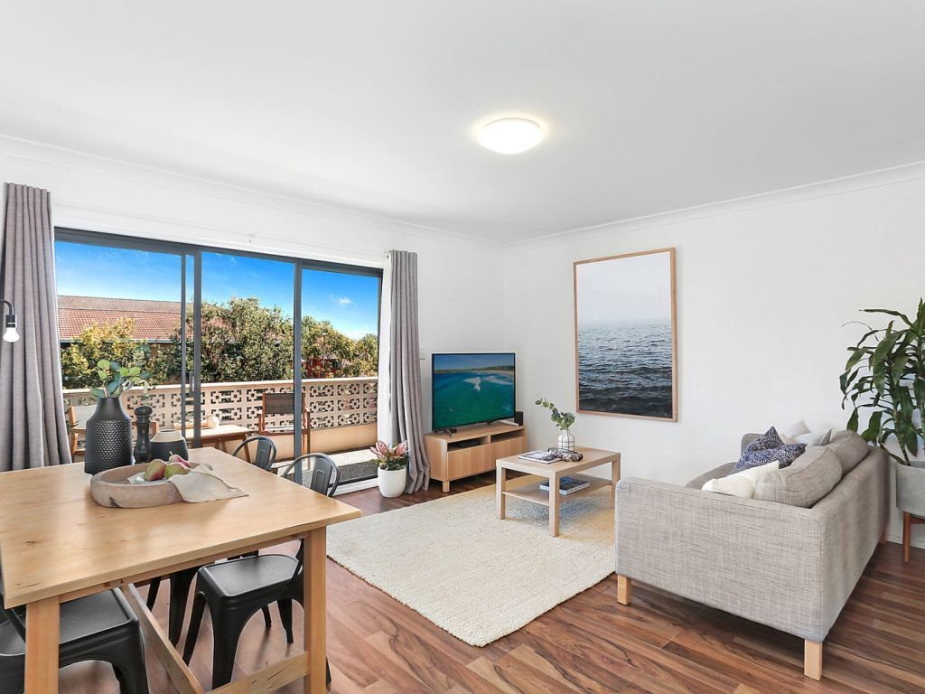 The top floor, pet friendly apartment at 9/22 Boronia Street, Dee Why.