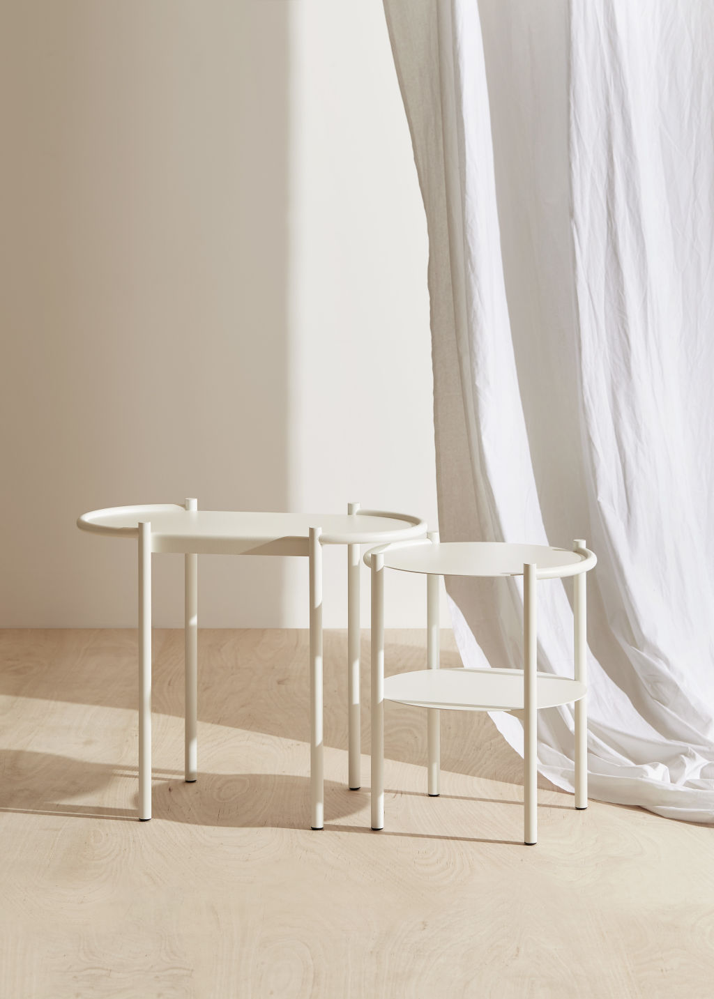 Fomu Oval Side Table by Fomu NOT FOR REUSE