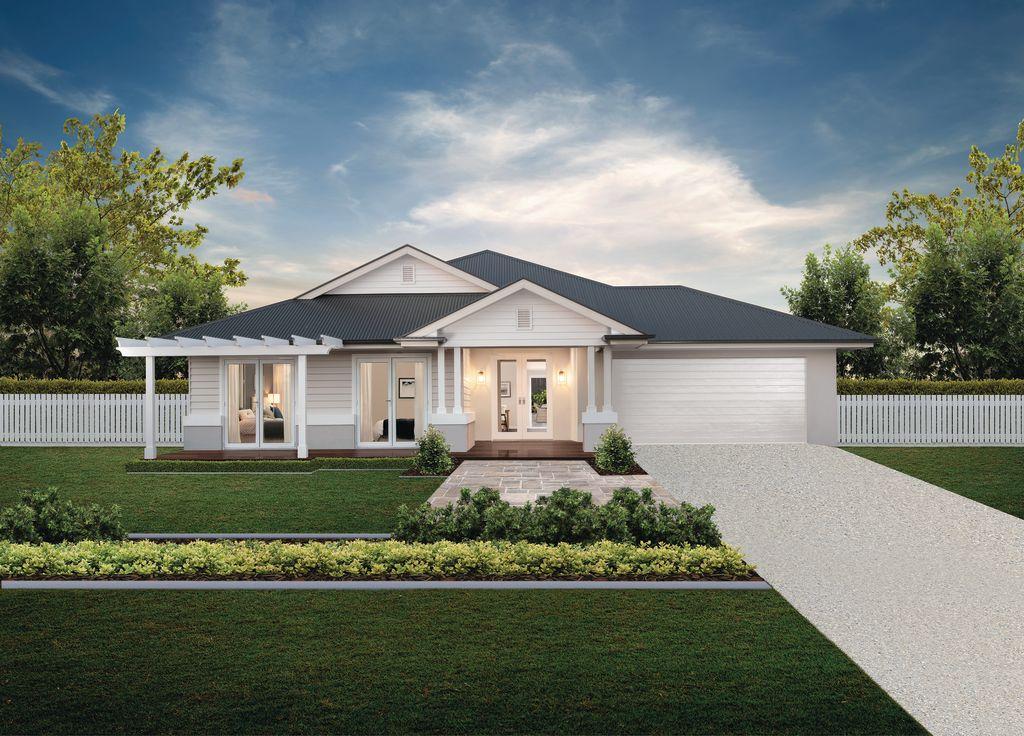 Coral Homes Hamptons design facade