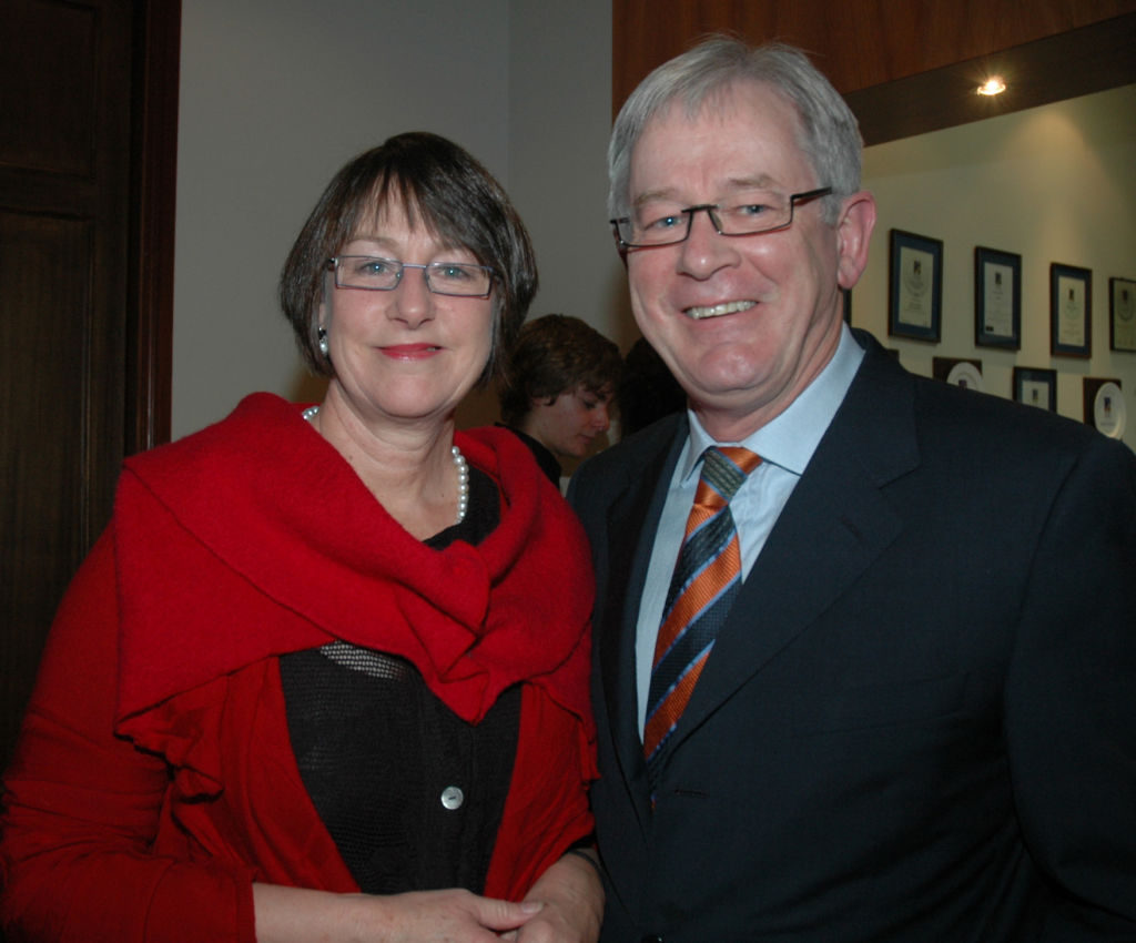 Maureen and Andrew Robb