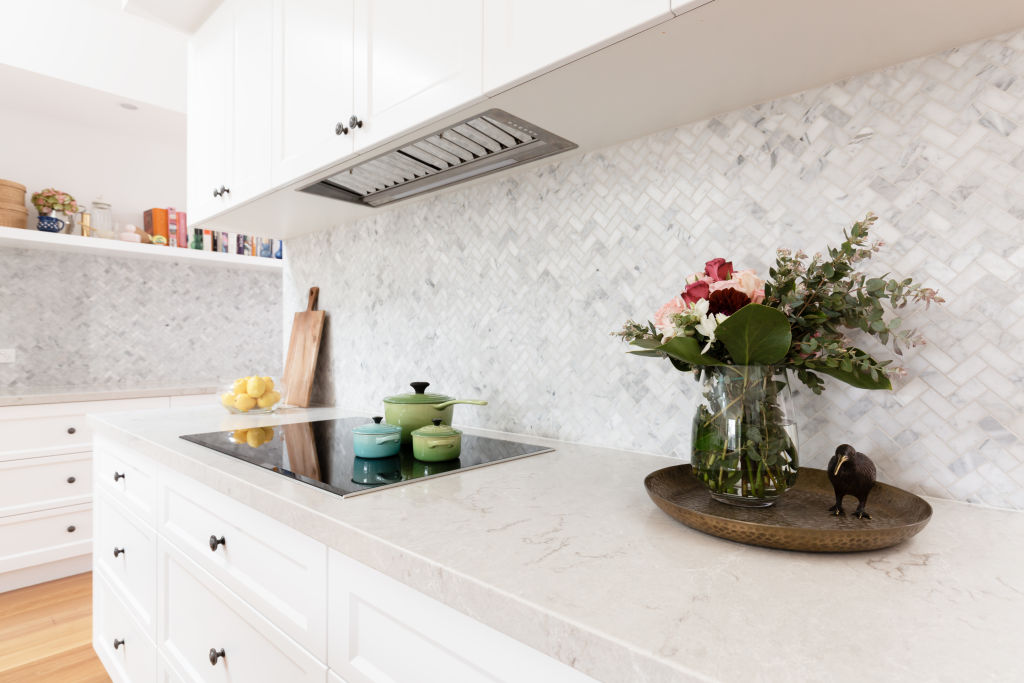 Tiled kitchen splashback PHOTO iStock and Jodie Johnson