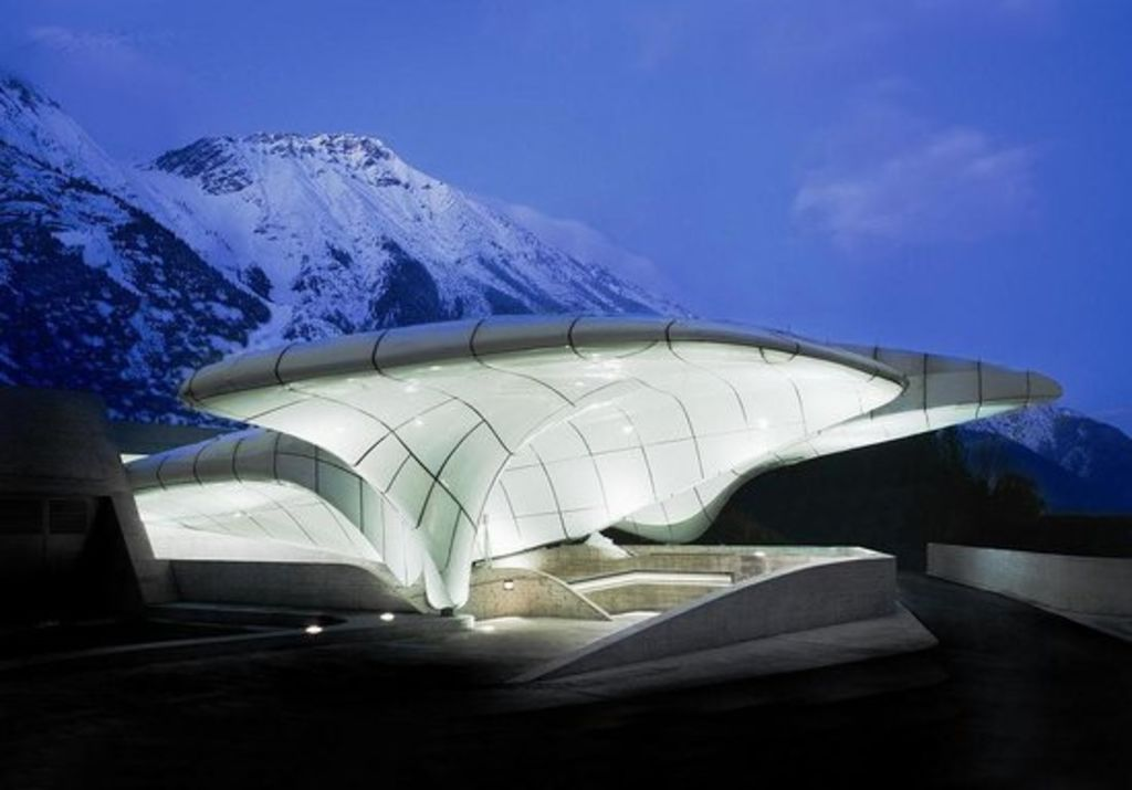 Hungerburger station Zaha Hadid