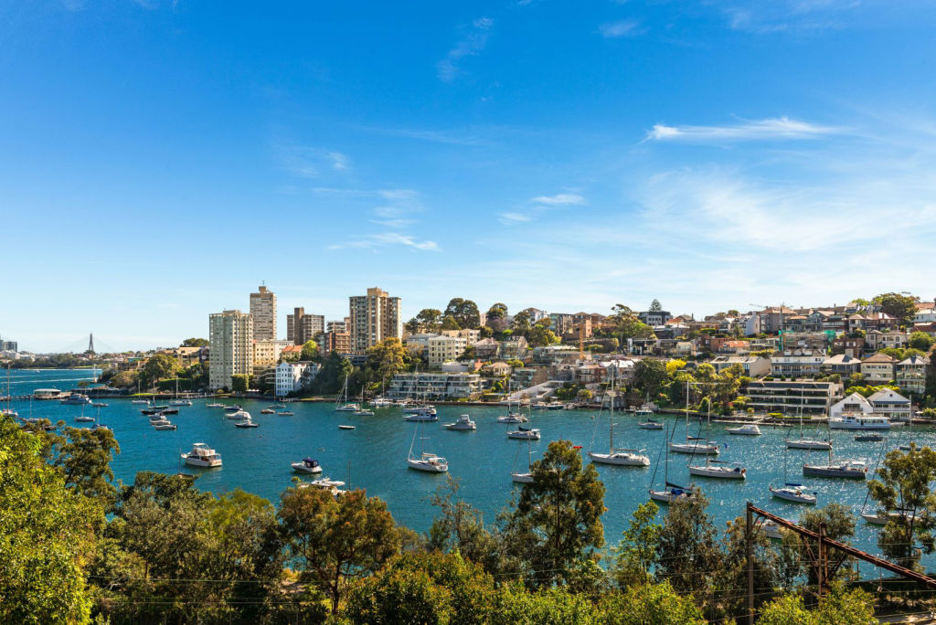 The view from a home in Lavender Bay low res