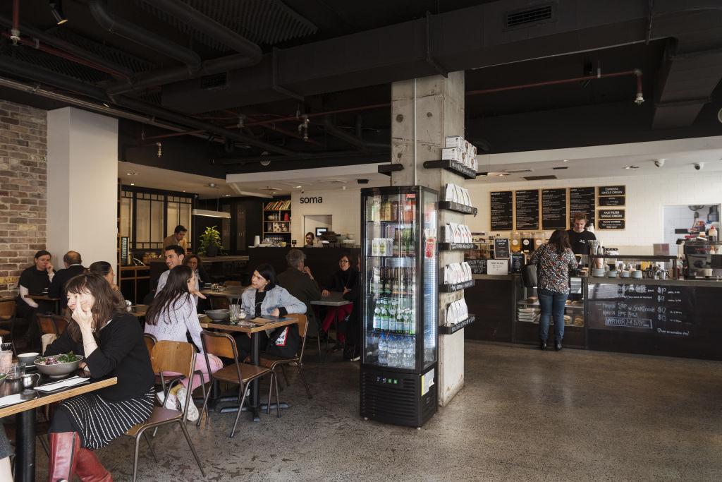Soma Cafe in Ultimo