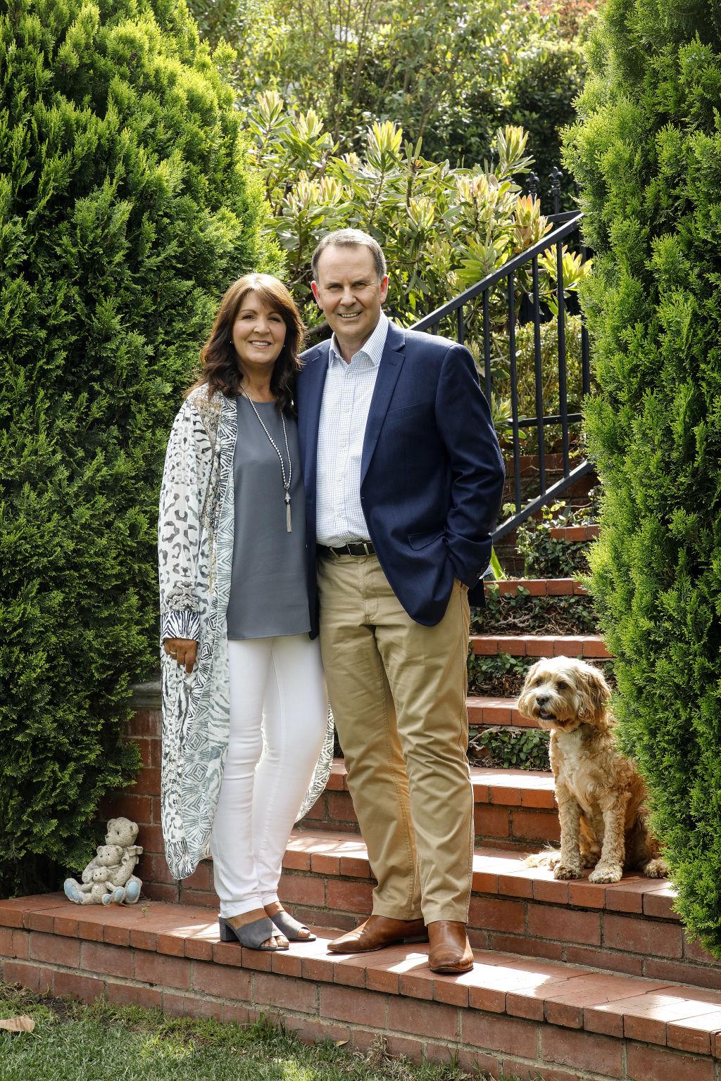 Tony and Annette Jones.