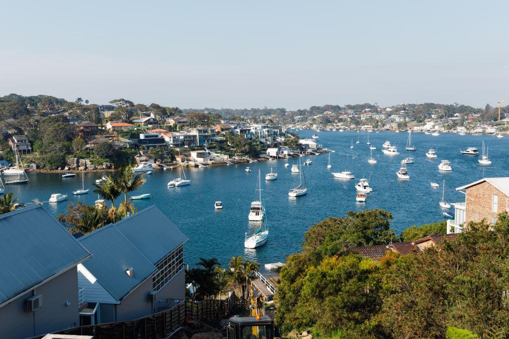 Dolans Bay in Sydney's Sutherland Shire.