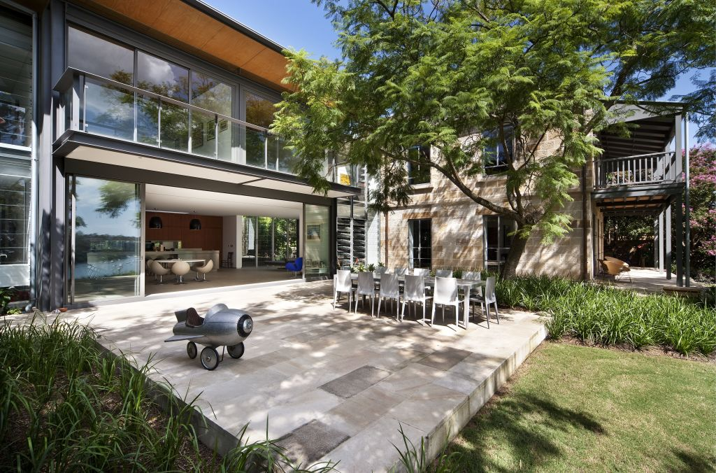 Cate Blanchett's Bulwarra house at 6 - 8 North Parade Hunters Hill
