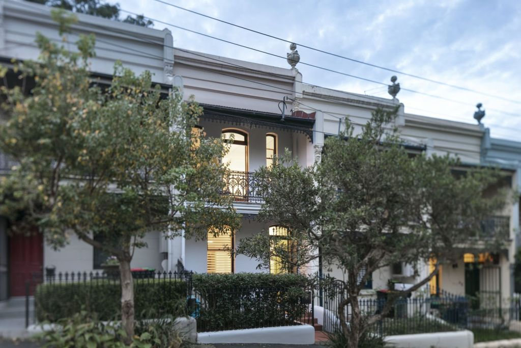 Most inner-city terraces were built more than 100 years ago, but terraces are now being built in many new housing developments.