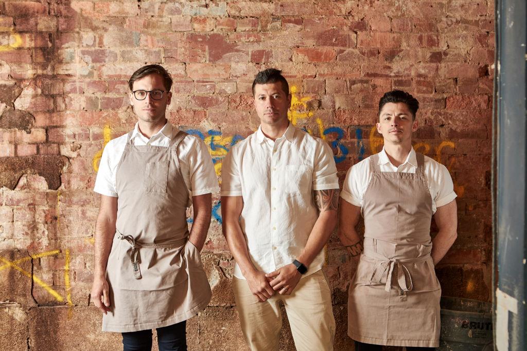Prince Public Bar reopens: Dan Cooper (Head Chef)_Dan Hawkins (Executive Chef)_Chris Andrews (Sous Chef)