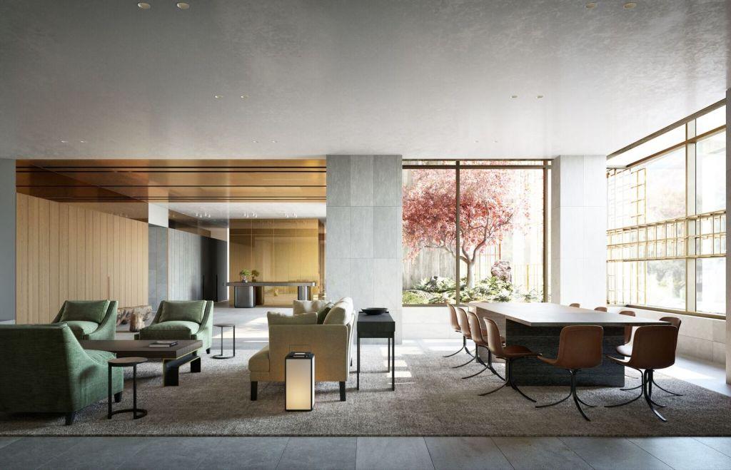 Domain House living room