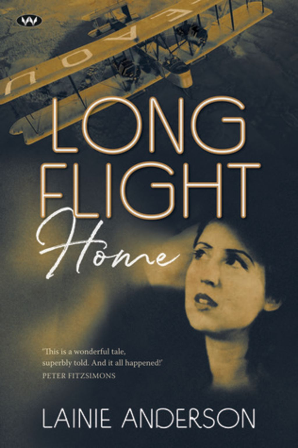 Long FLight Home by Lainie Anderson.