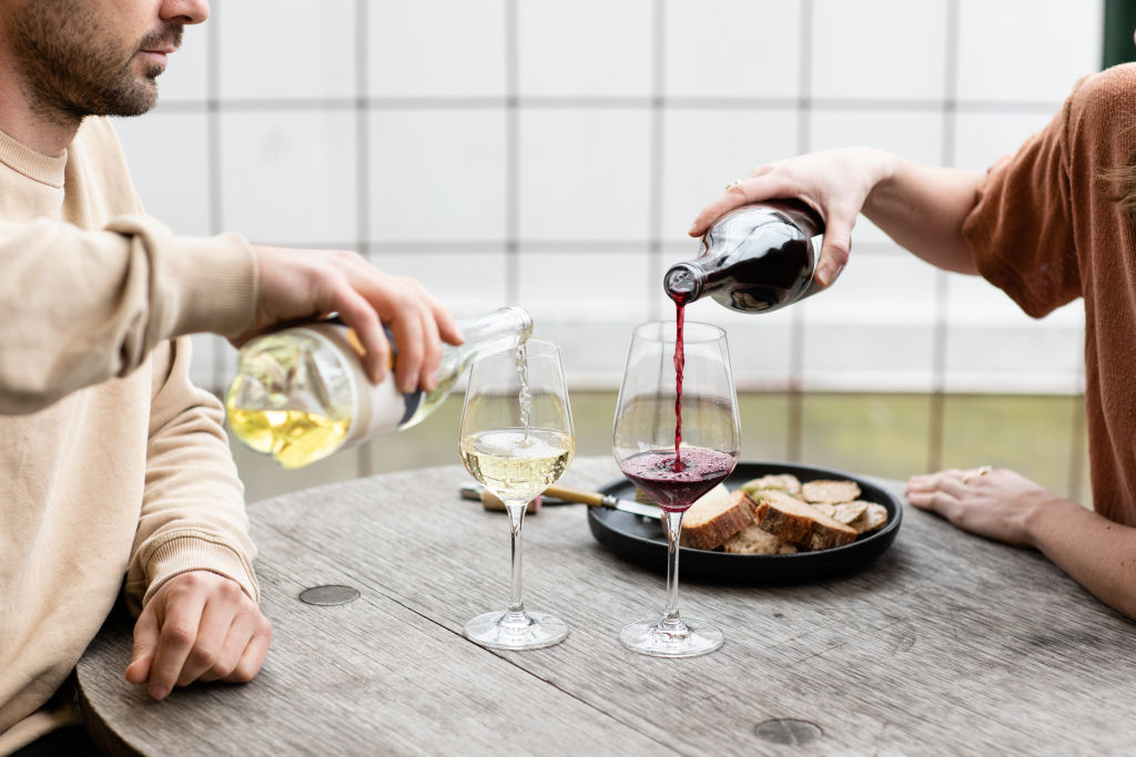 2018 Chardonnay, 2018 Sangiovese Syrah - Minimum Wines.