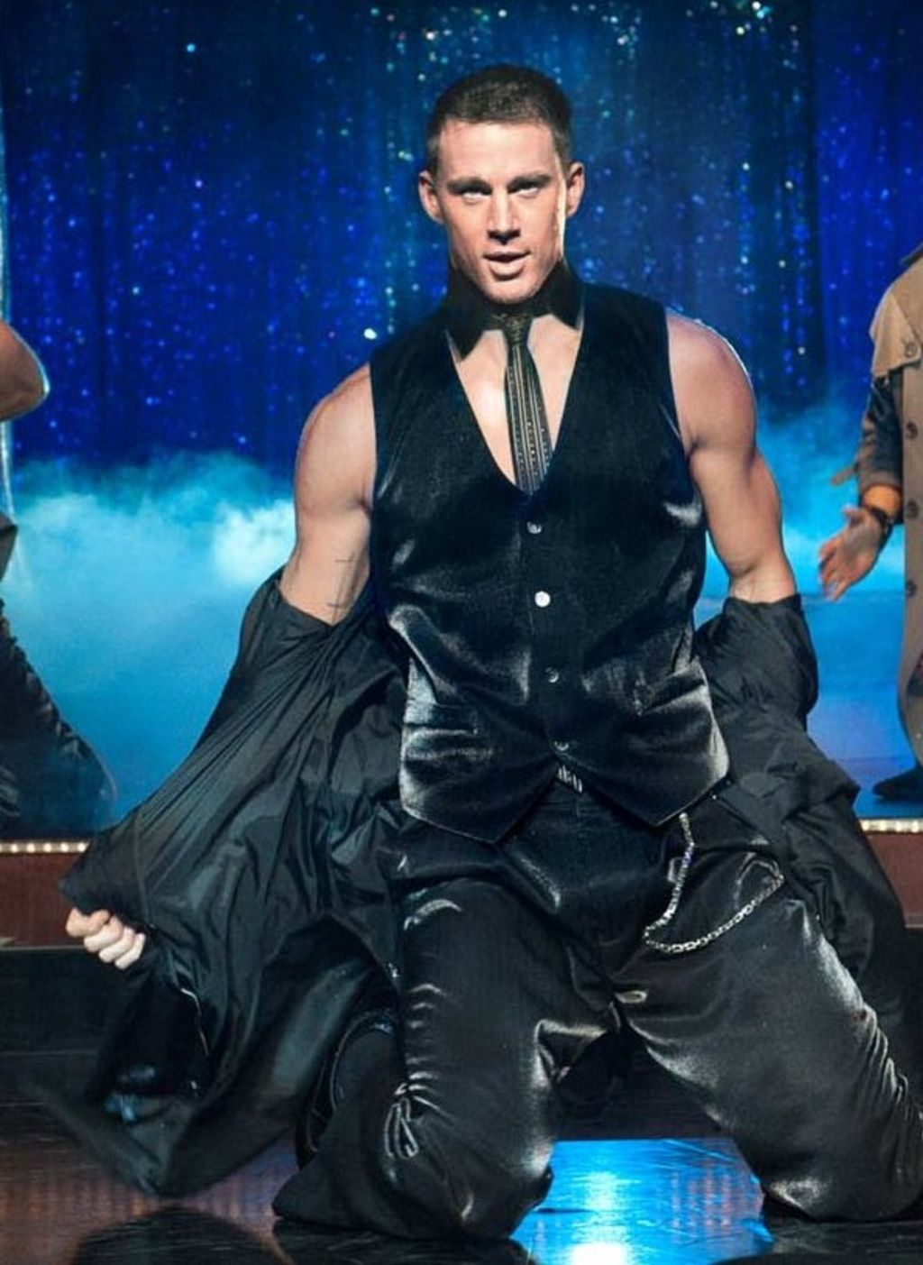 Channing Tatum in the original Magic Mike movie, released by Warner Bros. Pictures.