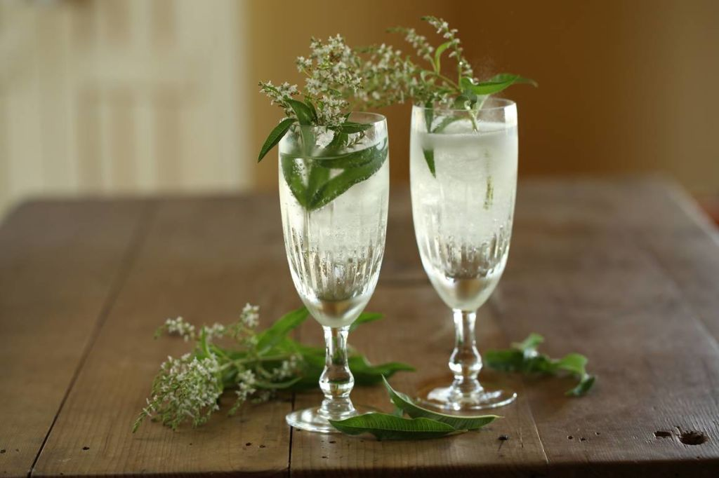 Sparkling spritzers made from Maggie Beer's Non-Alcoholic Chardonnay/