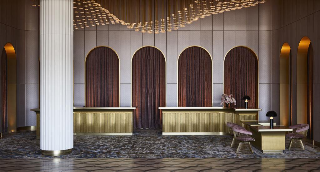 Hotel Chadstone foyer