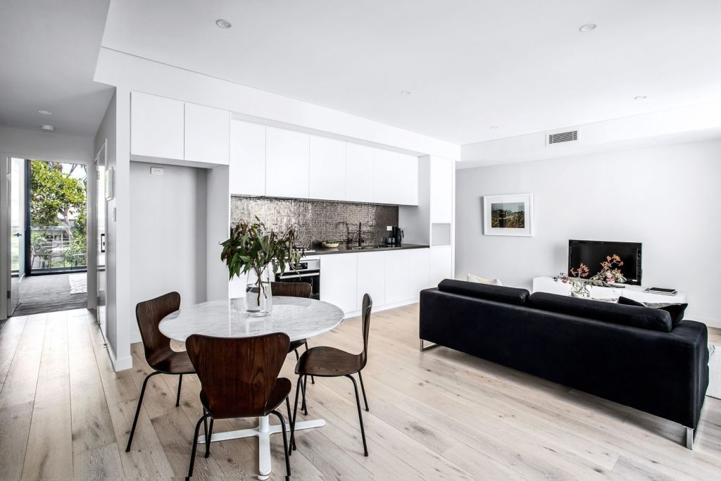 Investors may find newly built apartments trading for similar prices to older properties.