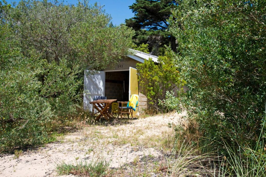 S43 Boat Shed on Shelly Beach Portsea