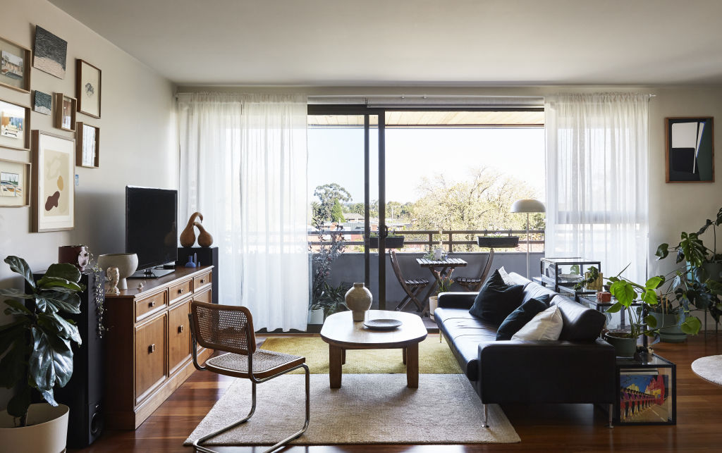 The Northcote apartment of Irina Rybakov and Carlo Demaio. Styling: Annie Portelli.