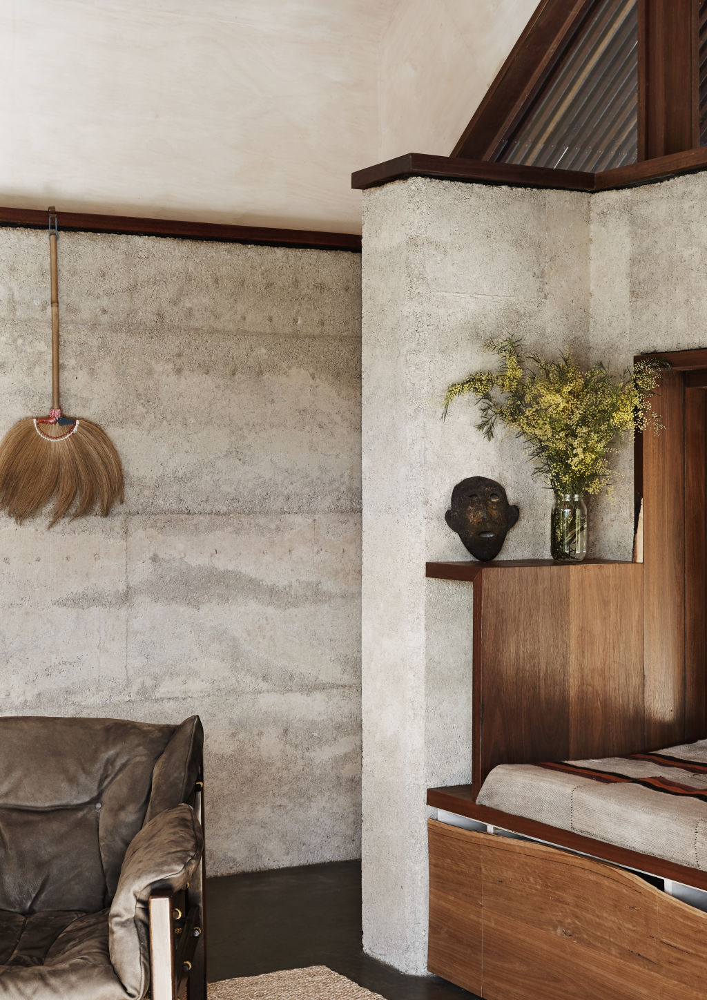 The entry into the Living Pavilion. Styling: Annie Portelli.