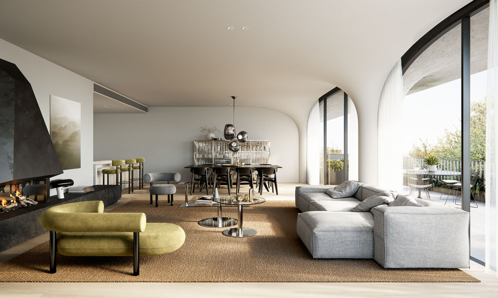 Rondure House_Living