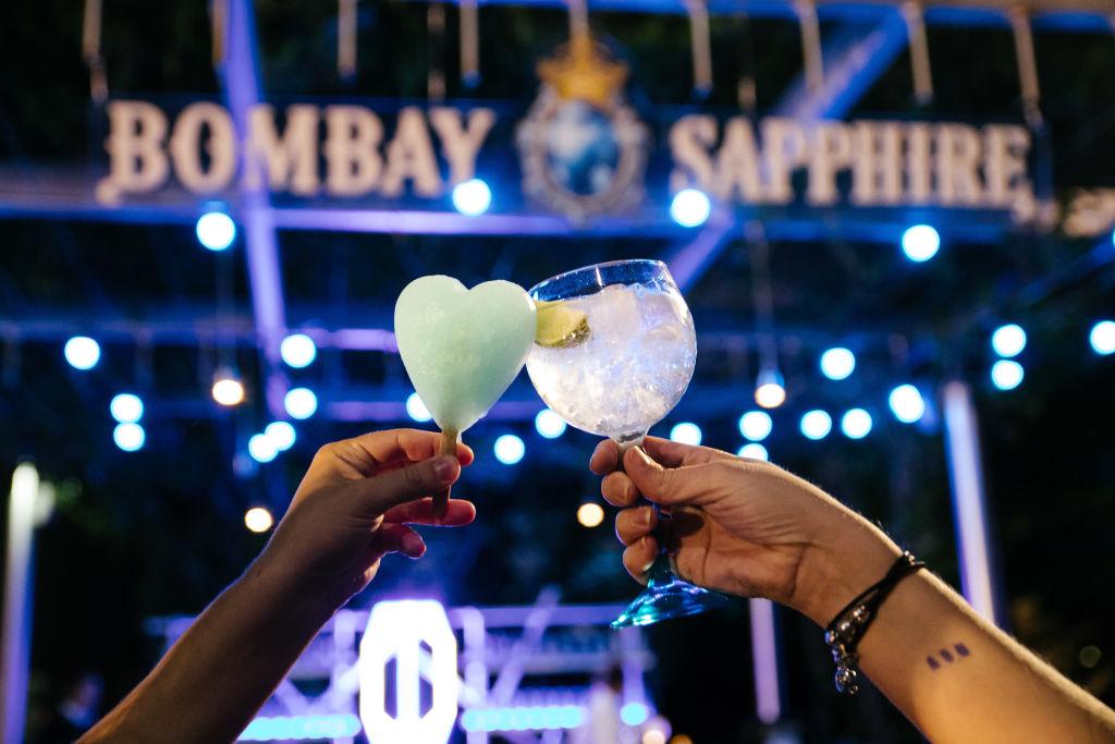 Bombay Sapphire Gin Bar X NGV Friday Nights.