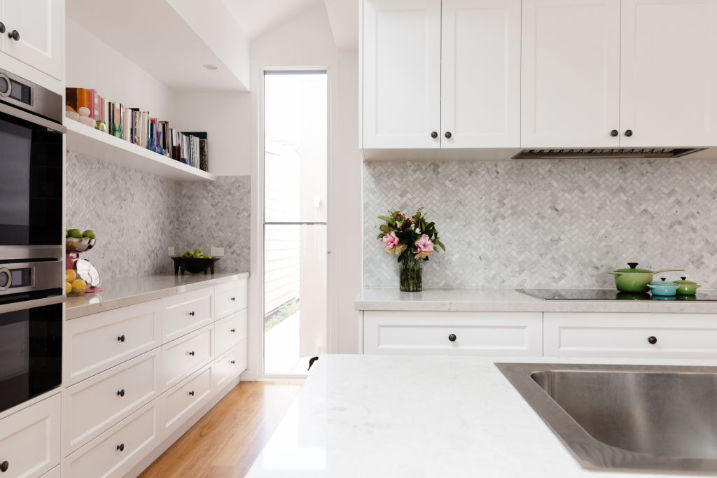 Tiled splashbacks can be bold or subtle, depending on your personal taste.