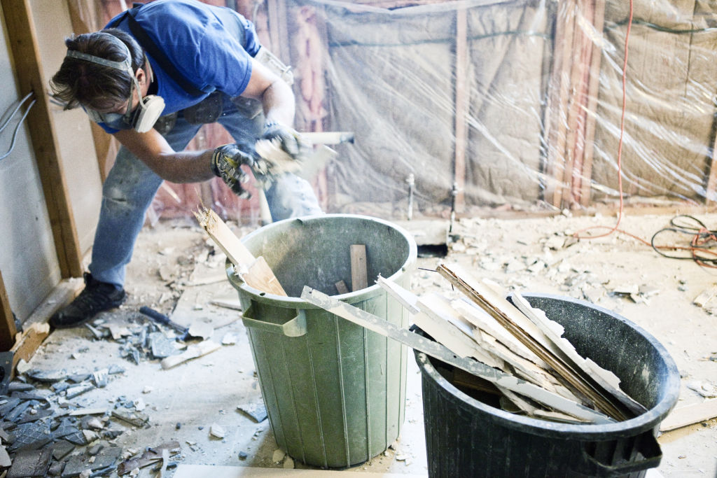 Dirt and dust are realities of renovating, even when precautions are taken.