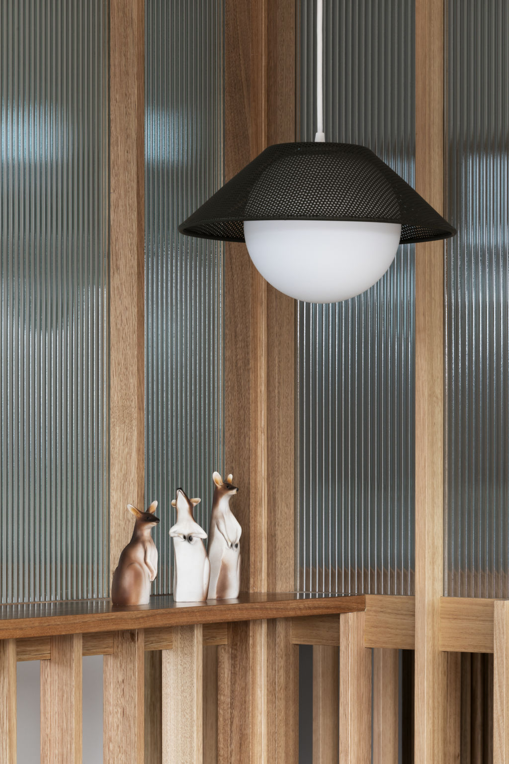 Akoya 14 pendant light by Rich Brilliant Willing from Koda Lighting. Styling: Ruth Welsby.