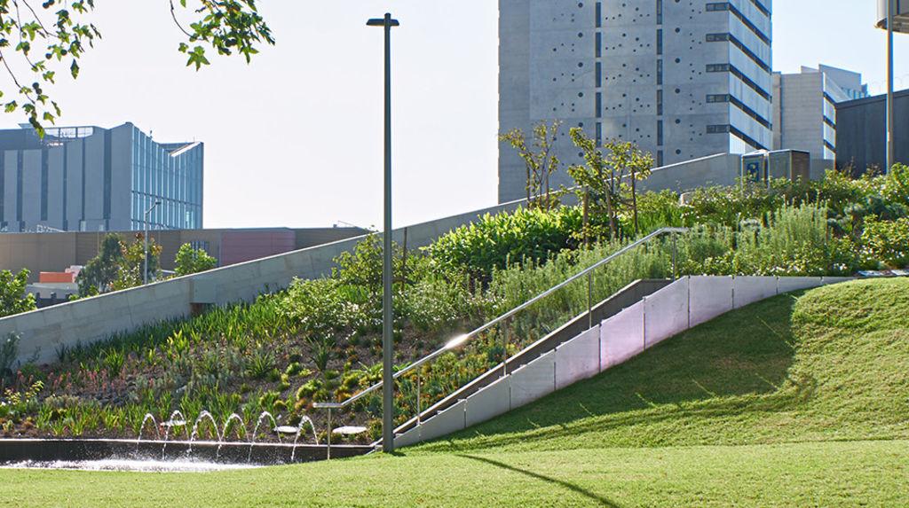 Melbourne Square park