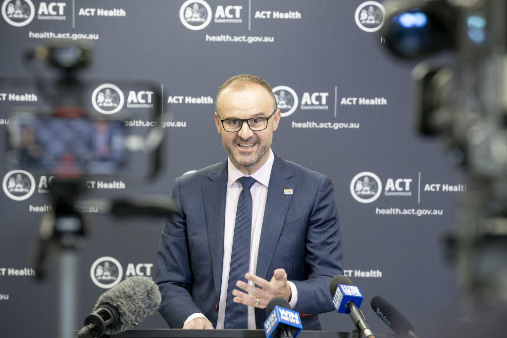 ACT COVID-19 update 1 April 2020