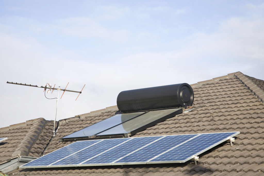 Solar power and water heating can dramatically reduce bills.
