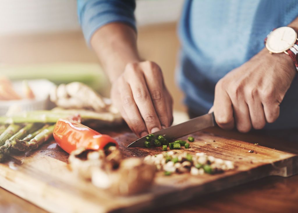 Planning meals, looking for specials and shopping around can reduce your grocery bill.