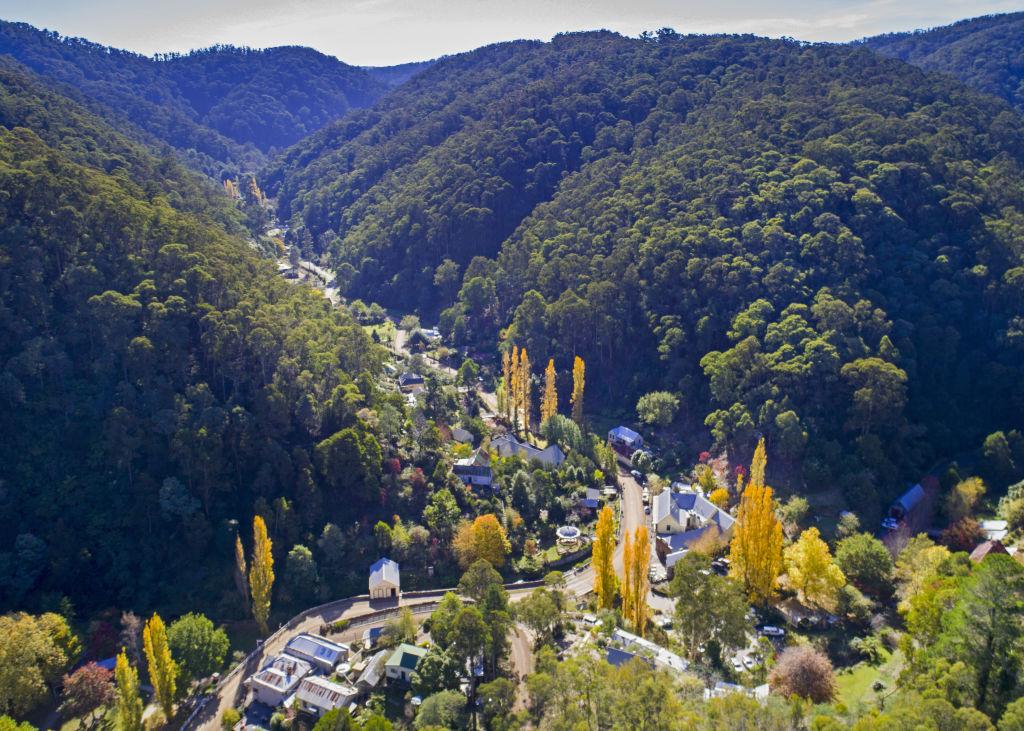 Walhalla valley (please credit Walhalla & Mountain Rivers Tourism)