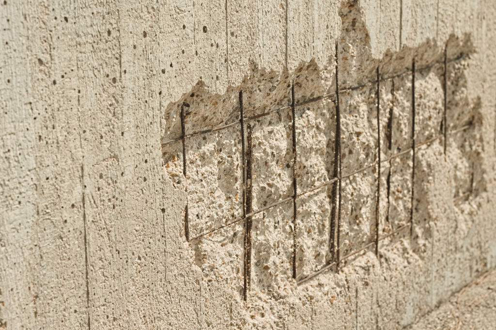 Some problems in the strata report, such as concrete cancer, are worse than others.
